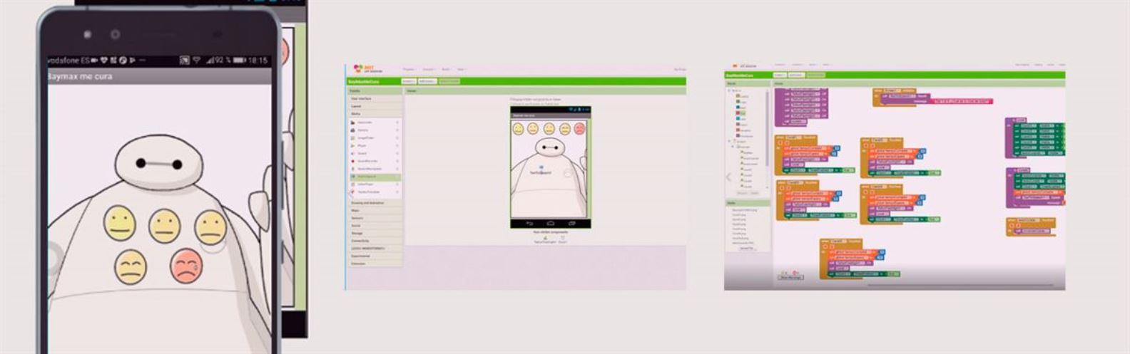 Actividad para niños de App: Baymax te dice cómo estás