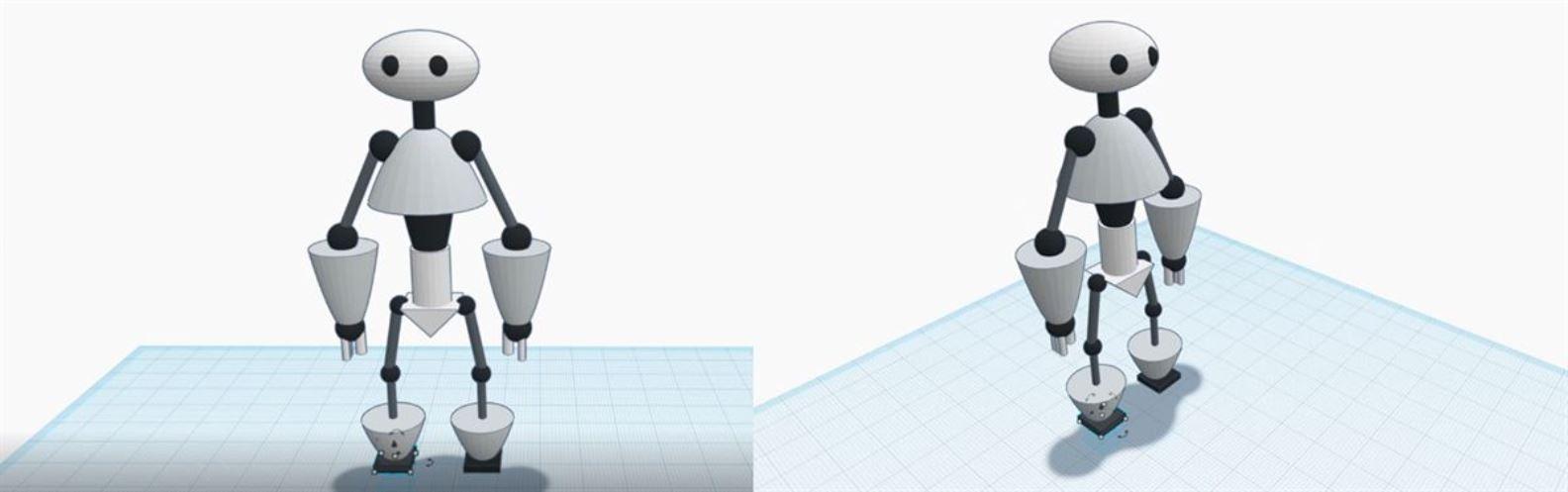 Actividad para niños de Arte 2D/3D: ¡Diseña tu Robot!