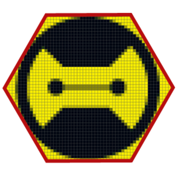 Avatar Pixelart Big Hero 6 3 intento