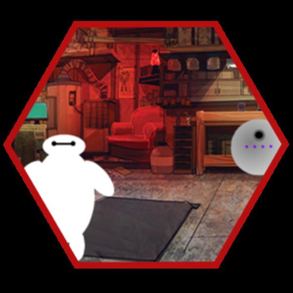 Baymax escapa del laboratorio
