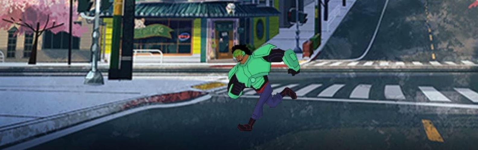 Actividad para niños de Animación: Corriendo por San Fransokyo