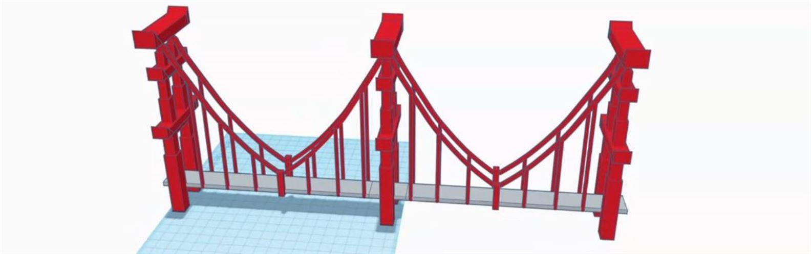 Actividad para niños de Arte 2D/3D: El puente de San Fransokyo