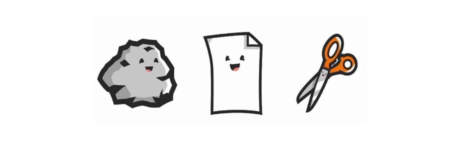 Actividad para niños de App: Piedra, papel o tijera