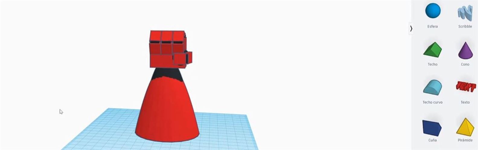 Actividad para niños de Arte 2D/3D: Puño 3D