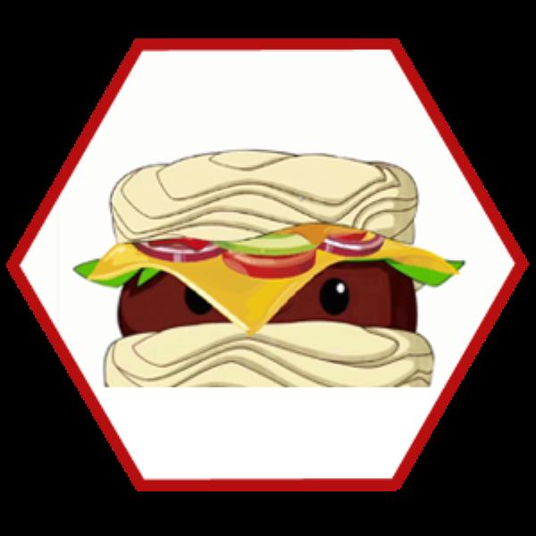 Qué rico Noodle Burger