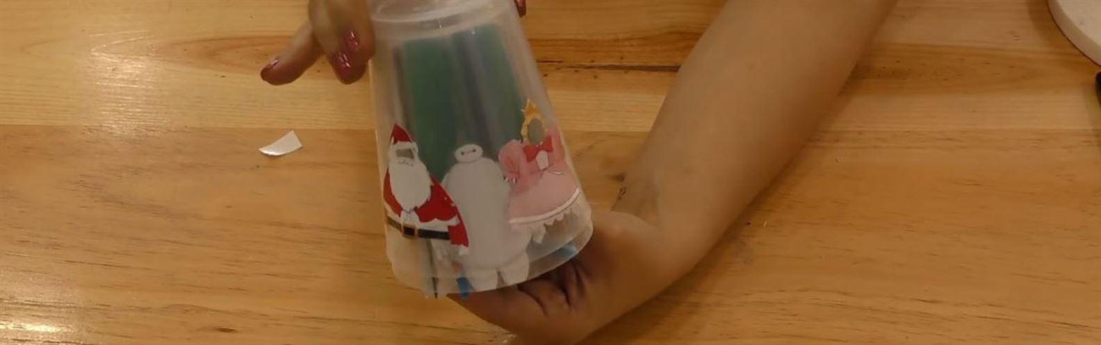 Actividad para niños de Reciclaje: VasoFilm