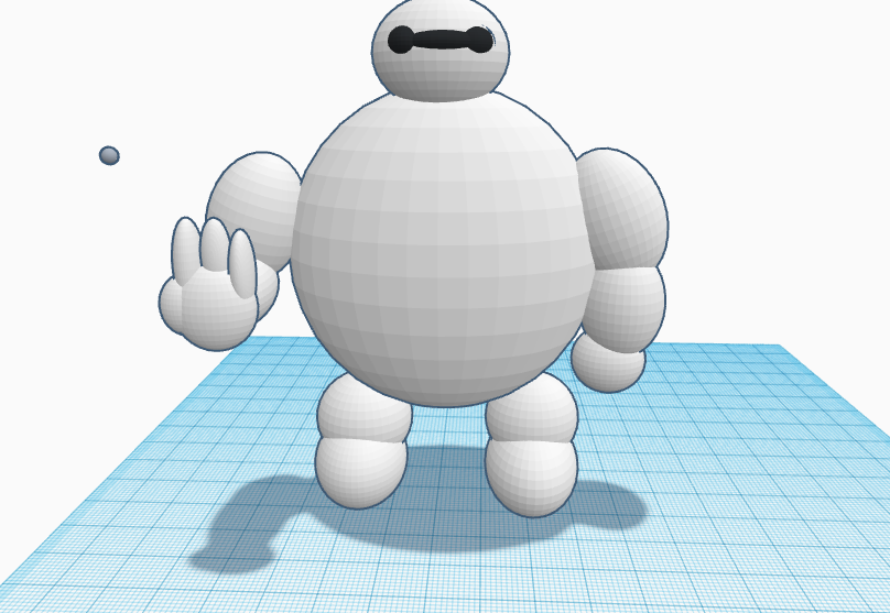 Primera imagen proyecto BH6Challenge HOLA SOY BAYMAX